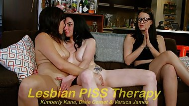 Lesbian PISS Therapy!
