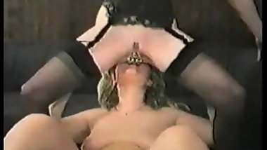 Iam Pierced MILF with pussy and nipple piercings in lesbian
