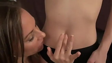 Navel Belly button tickling