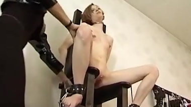 German Mistress - Humiliation and Spanking