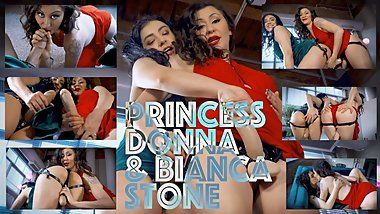Strap-on POV Fantasy with Princess Donna