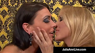 Cunt Craving Cougars Julia Ann & Jessica Jaymes Cum Together