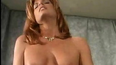 Brunette lesbian plays with big clit redhead's labia pt4