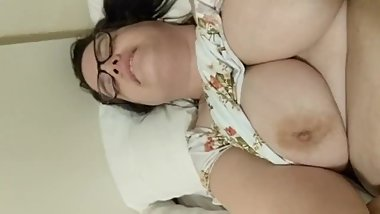 Trans and cis amateur lesbian married couple/ clips of us having sex