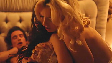 Francesca Eastwood, Annie Q nude and lesbian sex scenes