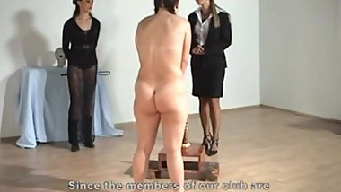 Lezdom - Whipping Humiliation