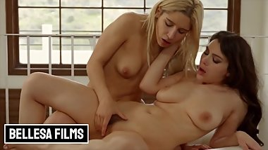 Bellesa - Latina Abella Danger fucks thicc model Valentina Nappi