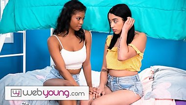 WebYoung Nia Nacci Helps Shy Babe Cum Outta her Shell