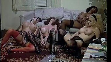 Mozenrath Presents : Vintage Fantsitic Big Boobs Foursome Lesbian