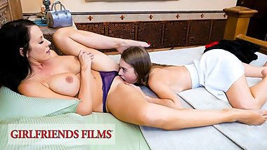 GirlfriendsFilms - Eager Teen Wants To Lose Virginity To Older Woman