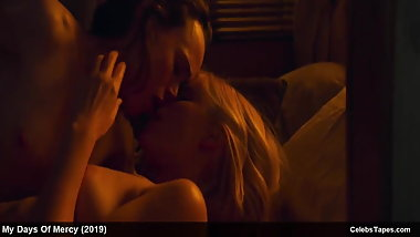 Kate Mara & Ellen Page nude and hot lesbian sex actions