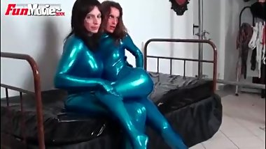 German lesbian latex lovers