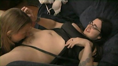 Cori 2 Hairy Girls BBW Lesbian with Glasses