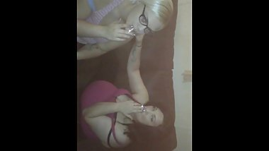 Snapchat sluts Keirra and Victoria smoking fetish